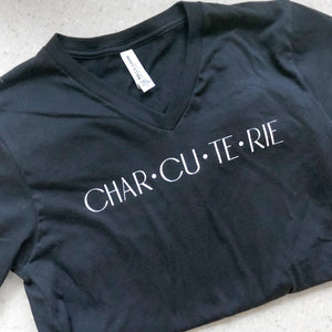 Charcuterie Ultra Soft V-Neck Tee (Unisex)