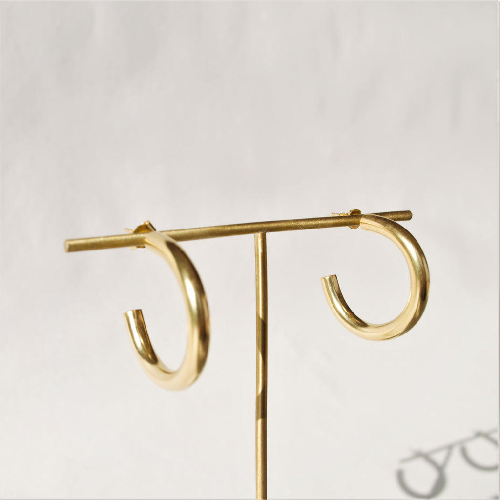 Fela Gold Hoops