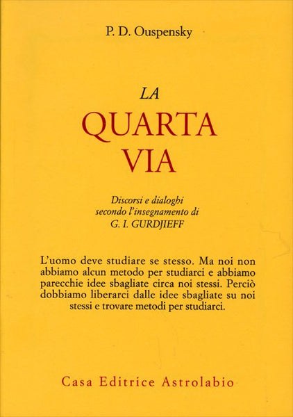 La Quarta Via - P. D. Ouspensky
