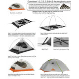 Kelty Gunnison 3.2: 3-Person Tent