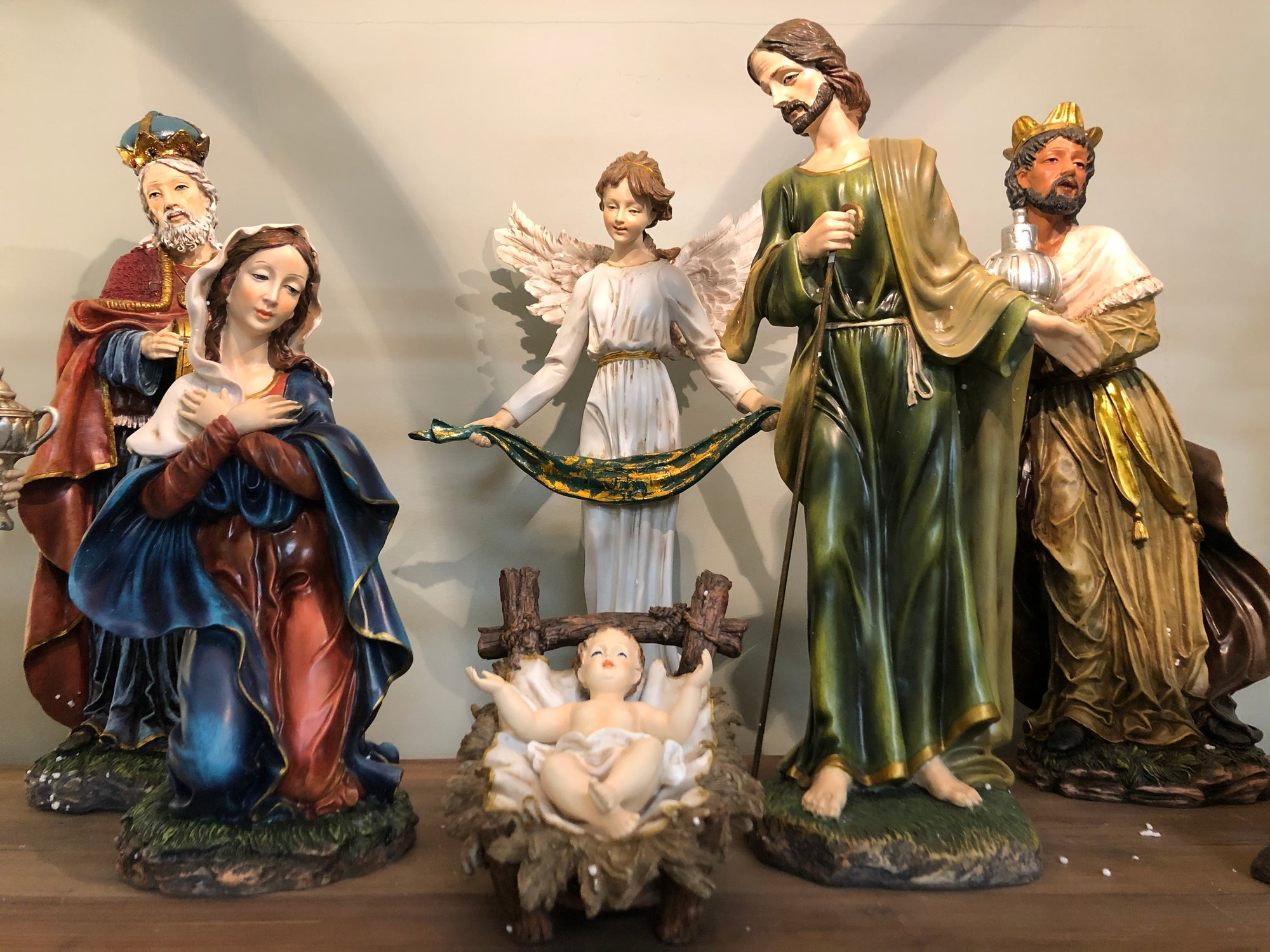 Display the Reason for the Season with a Nativity Set!