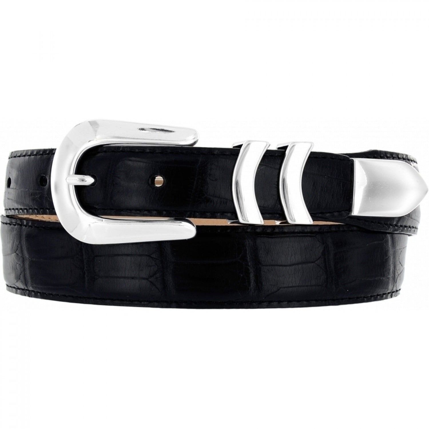 Catera Crocodile Taper Belt