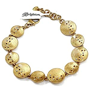 Brighton Cosmos Brushed Gold Plated Swarovski Crystal Bracelet