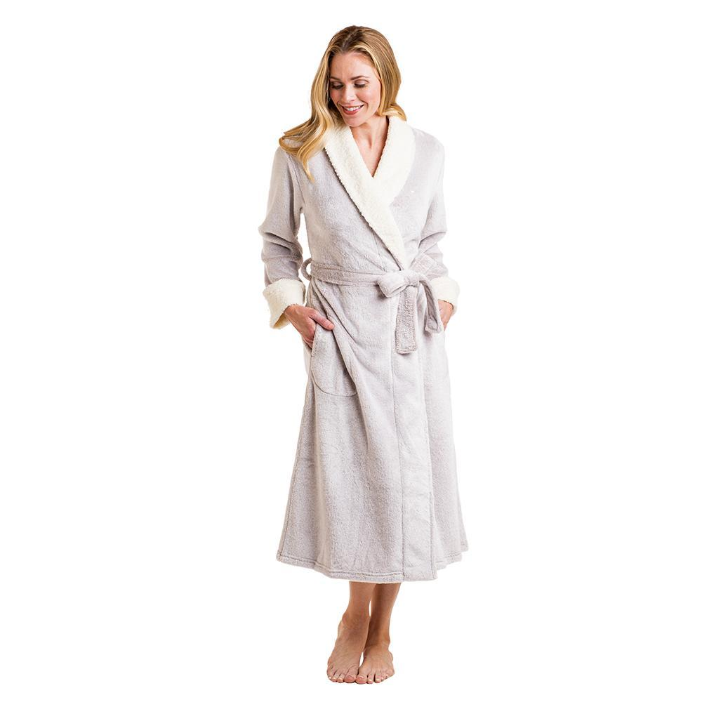 Sherpa Frosted Plush Robe