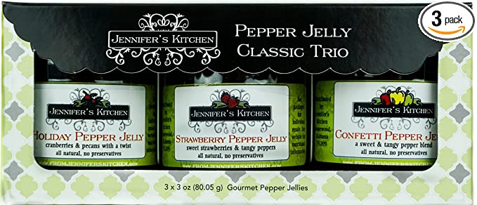 Pepper Jelly Classic Trio