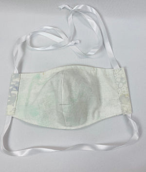Adjustable Unlined Fitted Face Mask with Toggle
