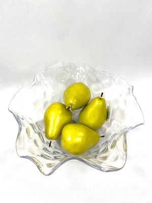 Medium  Decorative Glass Bowl