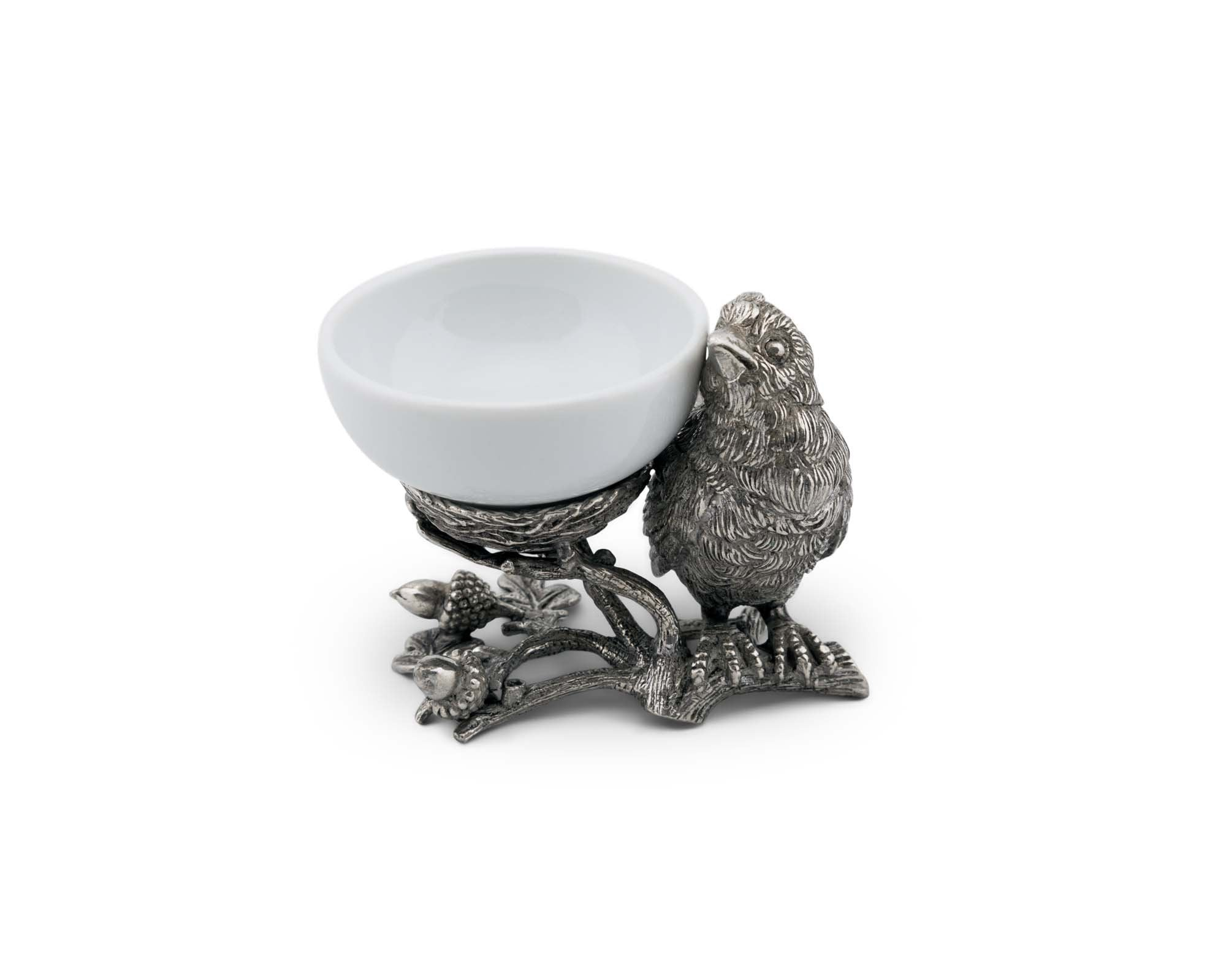 Song Bird Salt Cellar