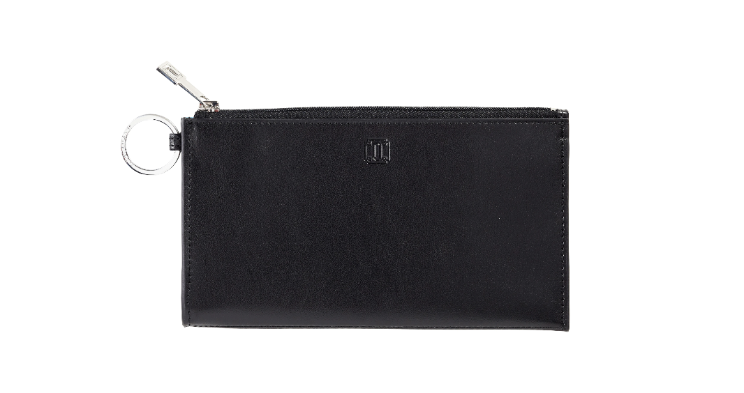 Black In Black Large Leather Card Case