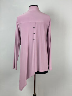 Icon Mandarin Top, Long Sleeve