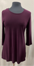 Scoop Neck Tunic with Side Slit