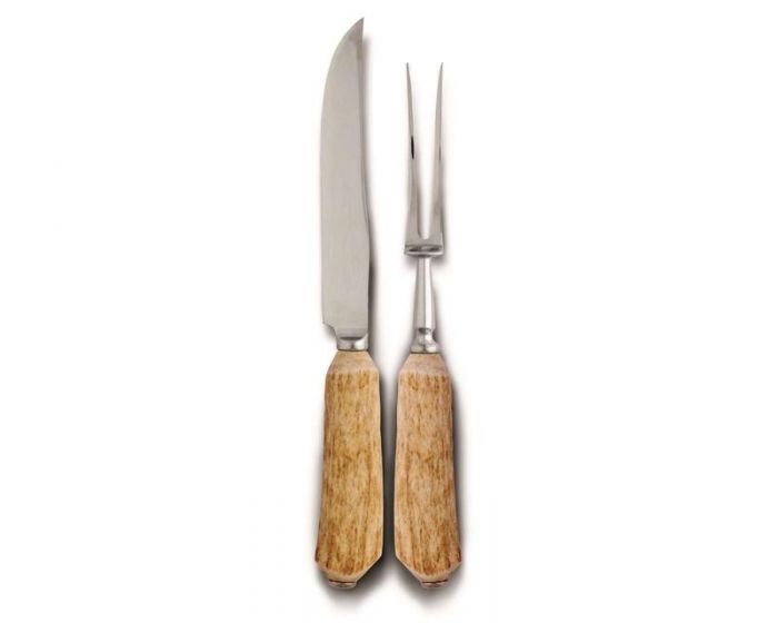 Antler Carving Knife Set