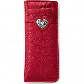 Bellissimo Heart Reader Case Red