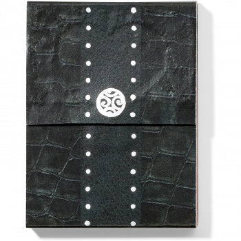 Pretty Tough Croco Notepad Black