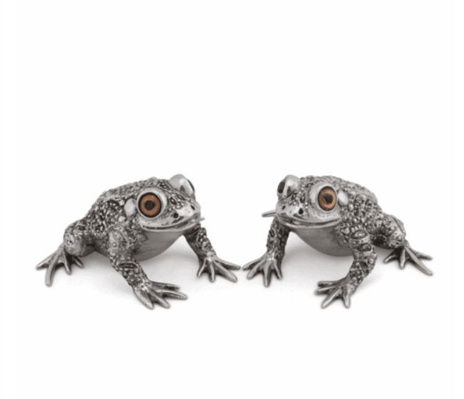 Toad Salt & Pepper Shakers