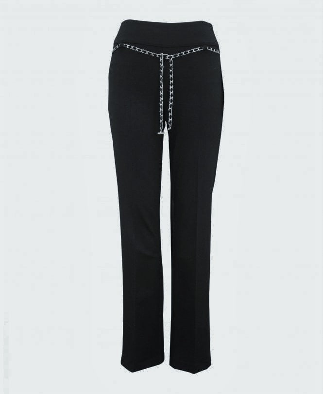 Chain Belt Pant - Black