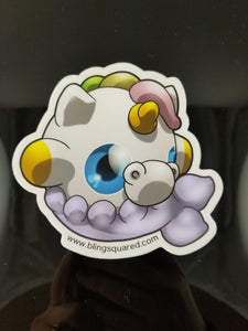 Beau Mernicorn Sticker
