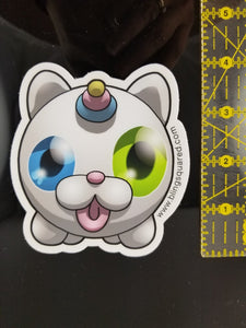 Impostor Kitty-Corn Sticker