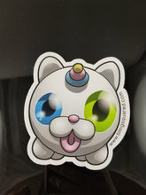 Load image into Gallery viewer, Impostor Kitty-Corn Sticker