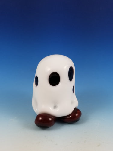 Charlie Brown Ghost Glass Figure