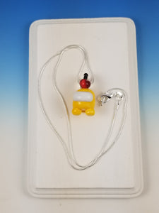 Yellow is Suss Glass Pendant