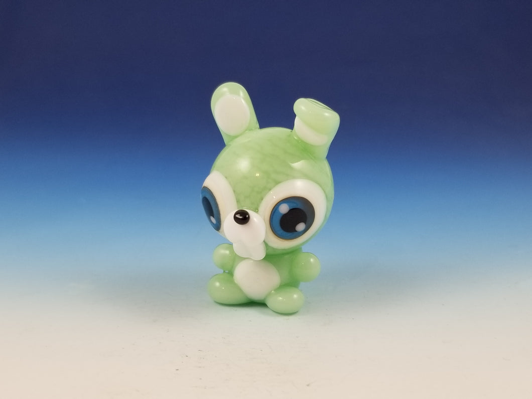 Sal Bunny Hand Sculpted Glass Figure LIMITED COLLECTION