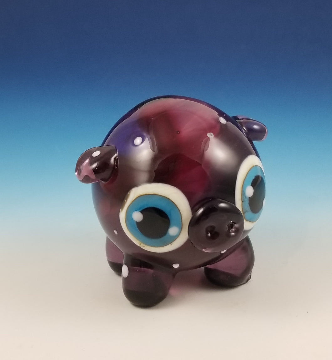 MEGA Purple Galaxy Cecil Pig