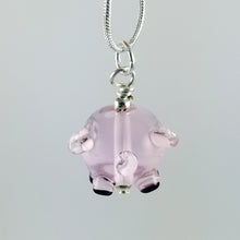 Load image into Gallery viewer, 2020 Vision Cecil Pig Hand Sculpted Glass Pendant