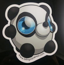 Load image into Gallery viewer, Johnny Panda Sticker