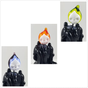 Extra Candle Flames - Skull Flames - color choice