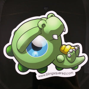 Erin Crocodile Sticker