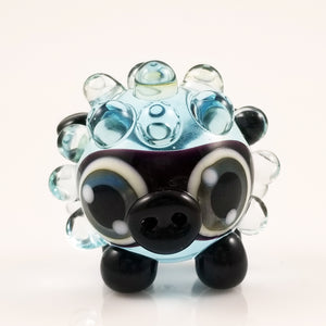 2020 Vision Dolly Lamb Hand Sculpted Glass Figure