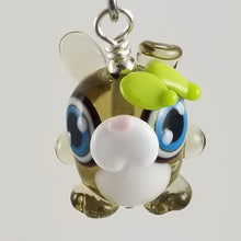 Load image into Gallery viewer, 2020 Vision Emo Rabbit Hand Sculpted Glass Pendant