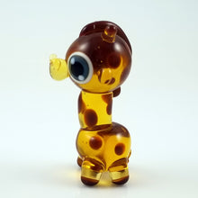 Load image into Gallery viewer, 2020 Vision Geoffrey Giraffe Hand Sculpted Glass Figure