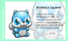 Load image into Gallery viewer, Roderick Squirrel Hand Sculpted Glass Figure LIMITED COLLECTION