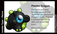 Load image into Gallery viewer, Phedre Dragon Hand Sculpted Glass Figure