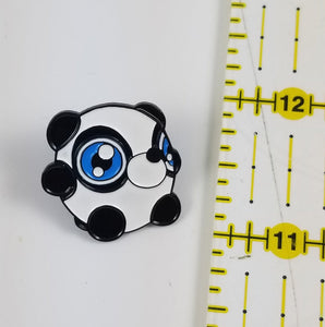 Johnny Panda Enamel Pin