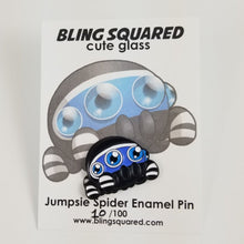 Load image into Gallery viewer, Jumpsie Spider Enamel Pin