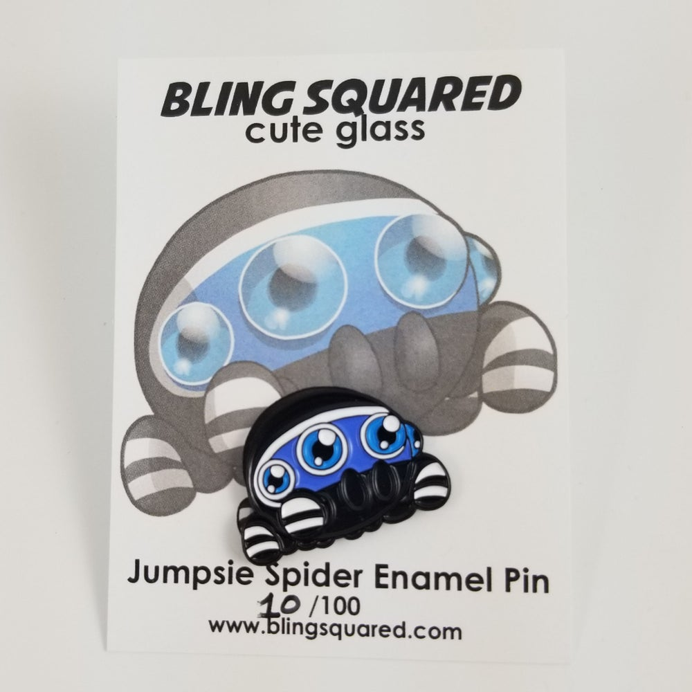 Jumpsie Spider Enamel Pin