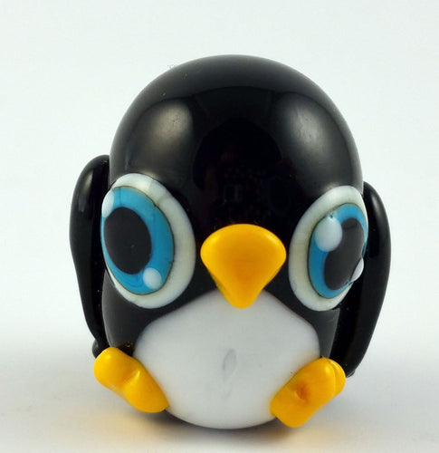 Pippin Penguin Hand Sculpted Glass Figure