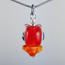 Load image into Gallery viewer, Rawry Rex Hand Sculpted Glass Pendant