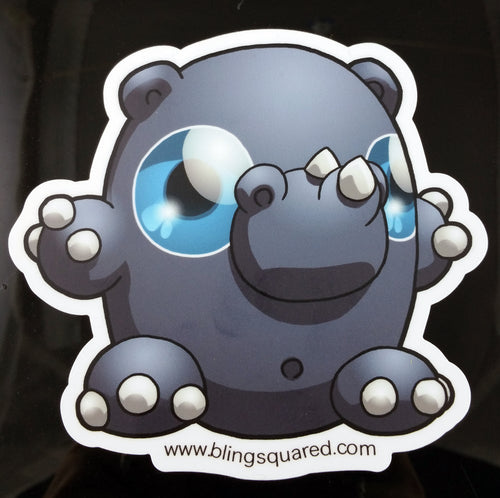 Jess Rhinoceros Sticker