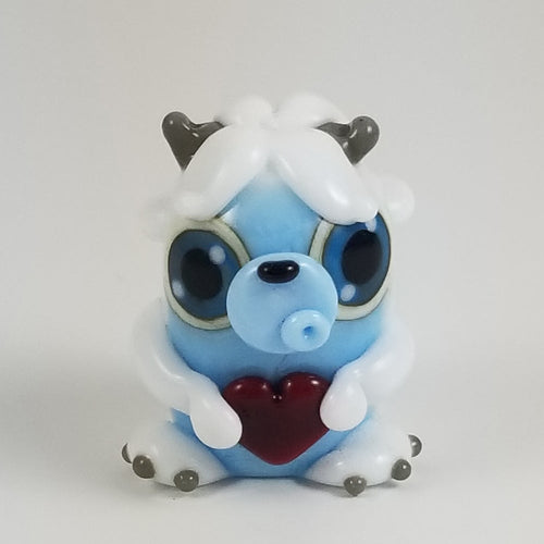 Shyla Yeti Hand Sculpted Glass Figure