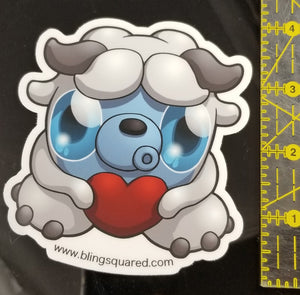 Shyla Yeti Sticker