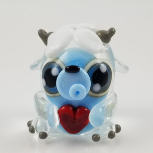 2020 Vision Shyla Yeti Hand Sculpted Glass Figure