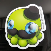 Load image into Gallery viewer, Sir Fish, aka Otto Octopode Sticker