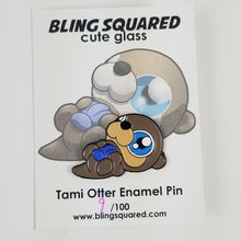 Load image into Gallery viewer, Tami Otter Enamel Pin