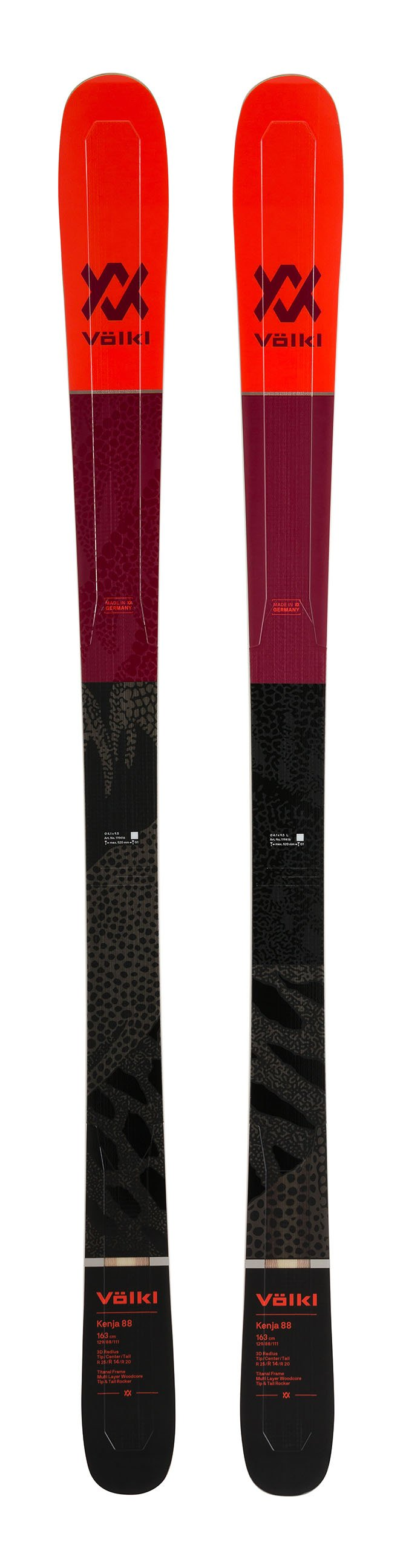 Völkl Womens Kenja 88 Skis 2020
