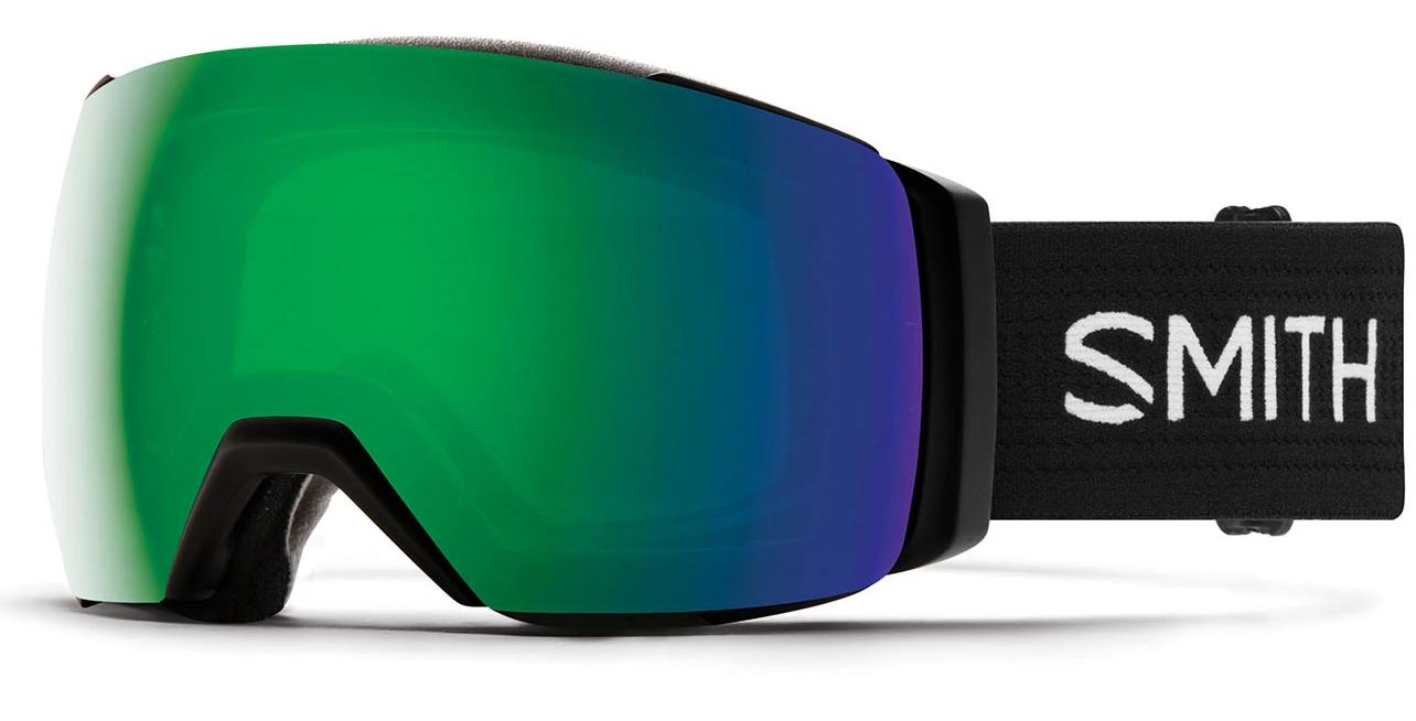 Smith I/O MAG XL Black/Sun Green Mirror Goggles