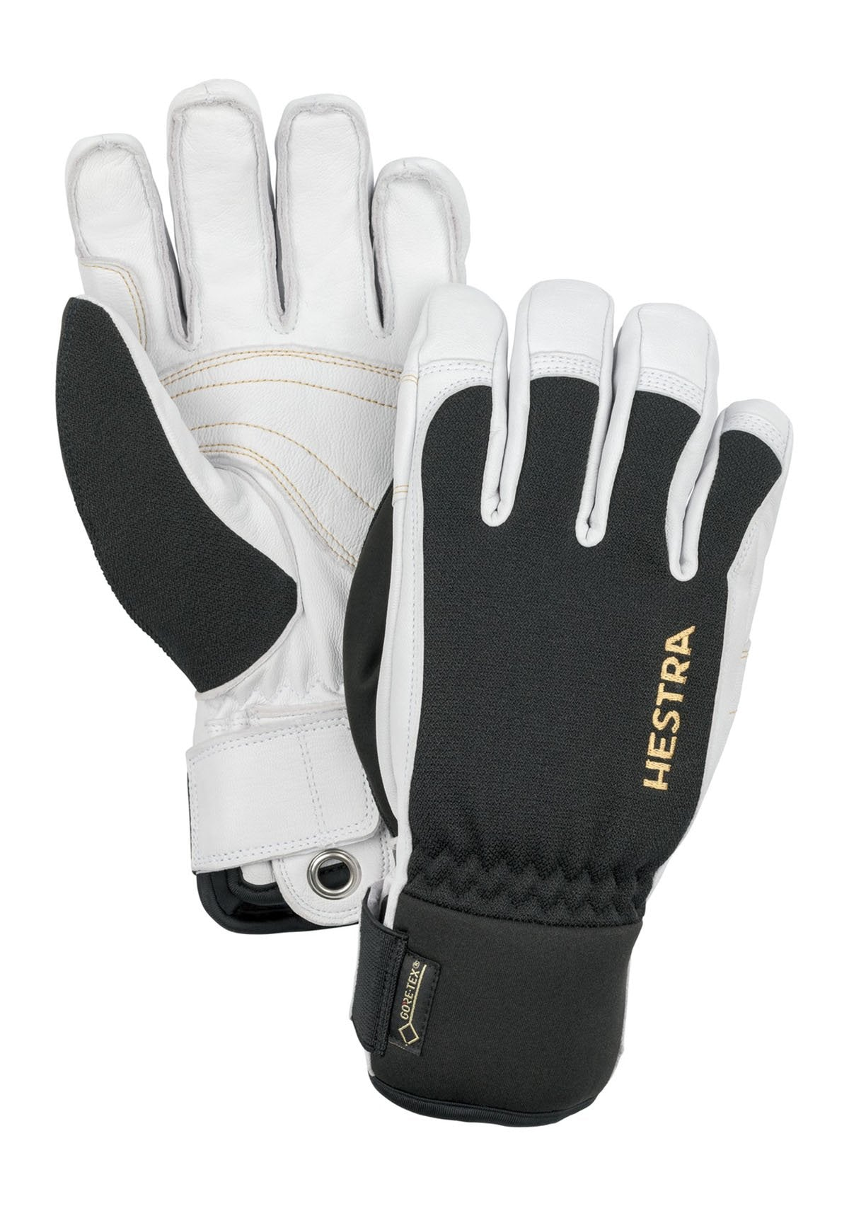 Hestra Army Leather Gore-Tex Short 5-Finger Gloves